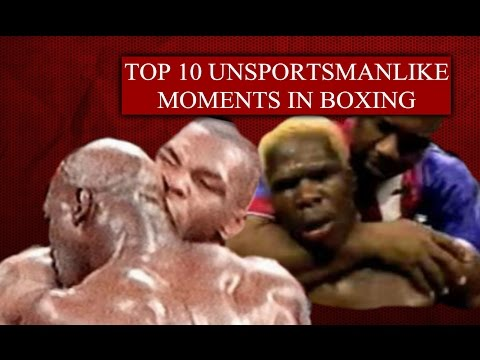 Top 10 Unsportsmanlike Moments in Boxing