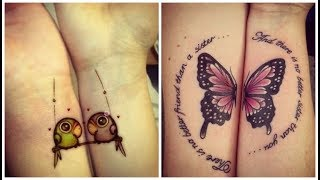25 Funny Yet Cool BFF Tattoos