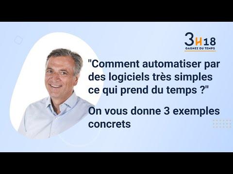 Tuto 3H18 - Comment automatiser les t͢ches manuelles dans une TPE/PME ? Tuto 3H18 - Comment automatiser les tâches manuelles dans une TPE/PME ?