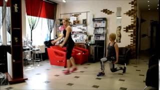 супер комплекс упражнений на коррекцию ног и пресса