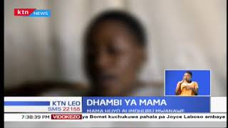 Polisi Kayole wanachunguza kisa cha mwanamke mmoja aliyemjeruhi mwanawe kwa madai ya kusema uongo