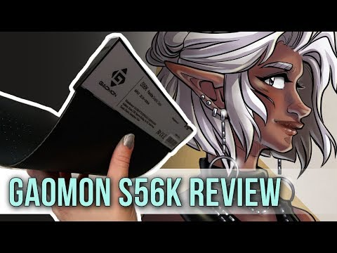 A Tablet That Bends?! Gaomon S56K Graphic Tablet Review