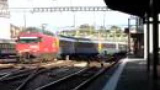 preview picture of video 'EuroCity Cisalpino EC 121 Monteverdi'