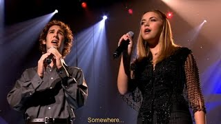 "Charlotte Church: ""Somewhere"" (2001). Live, HD, lyrics, subtitles."