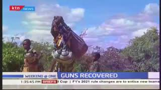 Guns recovered from herders along Kitui-Tana River border