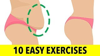 How To Lose: Lower Belly Fat (With 10 Easy Ab Exercises)