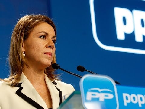 Cospedal asegura que el pago a proveedores ayudará a mantener el tejido productivo de España