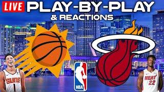 Phoenix Suns vs Miami Heat   Live Play-By-Play & Reactions
