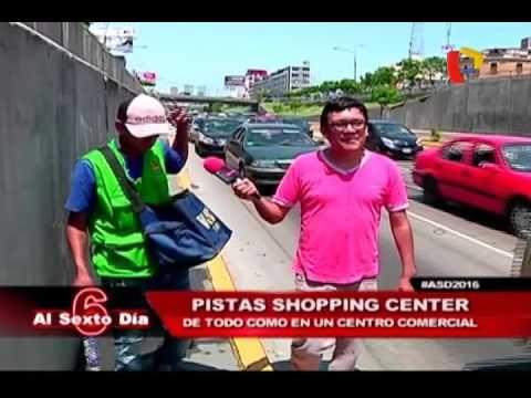 """Pista shopping center: un día con los llamados """"Reyes del semáforo"""""""