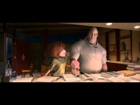 The Incredibles Movie Trailer