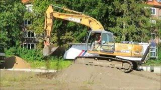 Soeren66 - Bagger CASE CX 210 Bei Ausschachten Einer Baugrube