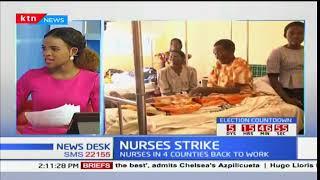 News Desk: Counties met nursing directors to deliberate on nurses strike