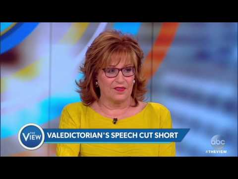Valedictorian's Speech Cut Short | The View