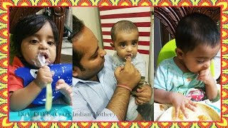 How to Start Solids for baby at 6 months?! | Diwalog Day 5 | Dussehra to Diwali Daily Vlogs