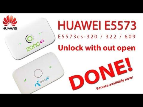 how to get huawei E5573cs 609 , Huawei Modem Unlocker flash
