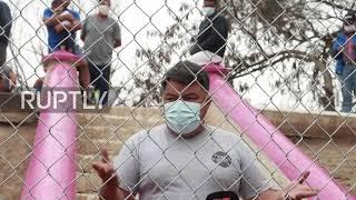 Meksyk: Wściekłość i konsternacja, gdy strony internetowe ONZ utrudniają migrantom wjazd do USA.