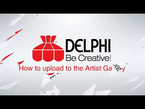 Delphi Glass: How to Upload Your Artwork to the Artist Gallery