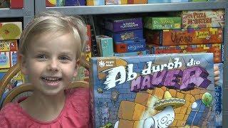 Ab durch die Mauer (Zoch) - ab 7 Jahre - Kinderspiel für Groß und Klein?