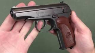 Пневматический пистолет PM Ultra Umarex от компании CO2 - магазин оружия без разрешения - видео 2