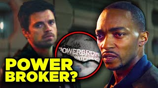 Falcon and Winter Soldier POWER BROKER Explained!