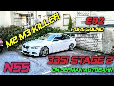 BMW 335i E93 Stage II 100-200 km/h - смотреть онлайн на Hah Life