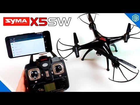SYMA X5SW con FPV | El dron espía más barato