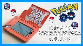 TOP 5 de Accesorios para celular basados en POKEMON GO