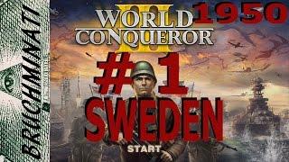 Sweden 1950 Conquest #1 World Conqueror 3