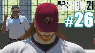 JUNIOR CONSIDERS RIPPING OFF THE UMPIRE'S ARM! | MLB The Show 21 | Road to the Show #26