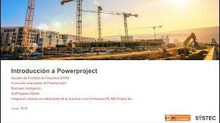 Webinar: Introducción a Powerproject BIM