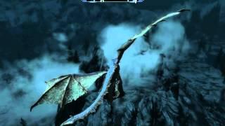"""Полёт на драконе с помощью Крика """"Подчинение Воли"""".."""