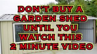 Insider Secrets About Steel And Metal Garden Sheds