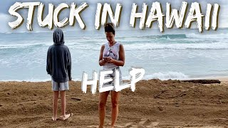 HOW are we going to get home to our daughter | *Stuck in Hawaii when the world turned upside down*