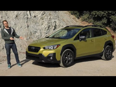 2021 Subaru Crosstrek Sport Test Drive Video Review