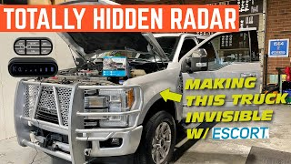 INSTALLING A Completely HIDDEN Radar Detector And Laser SHIFTERS In My F-250