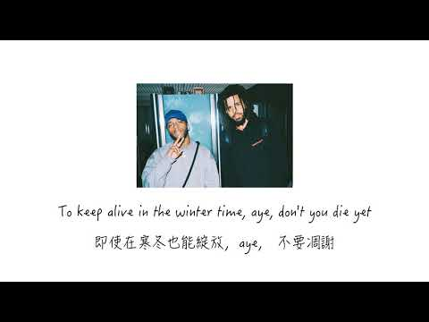 【中英歌詞】6LACK - Pretty Little Fears ft. J. Cole