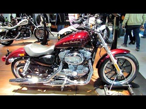 2014 Harley-Davidson Sportster XL883L Superlow Walkaround - 2013 EICMA Milan Motorcycle Exibition
