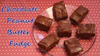 peanut butter fudge made with powdered sugar recipe