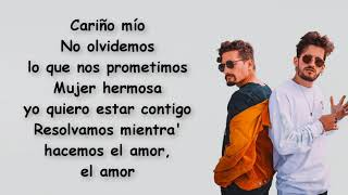 Chyno Miranda   Cariño Mio Ft. Mau Y Ricky (Letra)