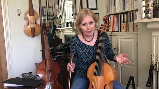 How to change a viol string with Jacqui