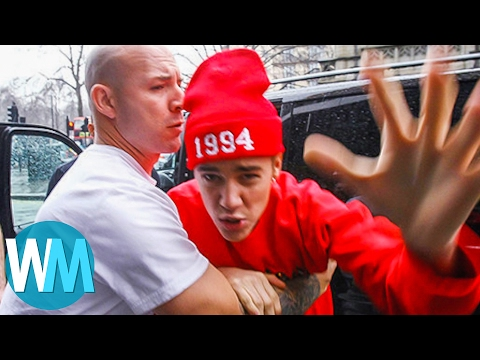 Top 10 Celebrity Paparazzi Fights