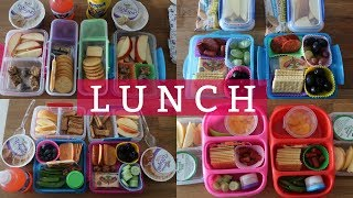 School Lunch Ideas!  - Week 8 | Sarah Rae Vlogas |