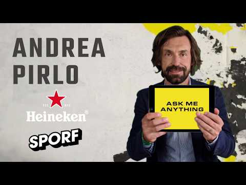 ANDREA PIRLO | Ask Me Anything | SPORF x Heineken