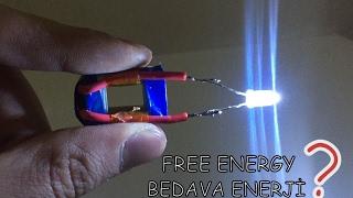 Su İle Sınırsız Elektirik Üretimi ( FREE ENERGY )
