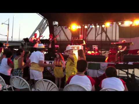 The Cavaliers Italian Band at the Newport KY Italian Festa