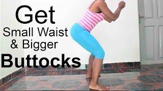 how to get a smaller waist and bigger hips & butt| 9 effective small waist big hips & butt exercises