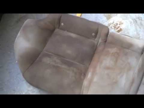 How To Clean Car Seats, The Easy Cheap Way.
