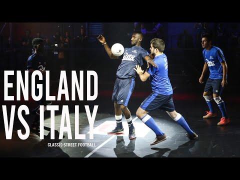 ENGLAND VS ITALY   Classic Street Football