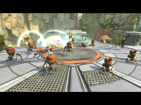 Ratchet & Clank: All 4 One ukazuje zbraně