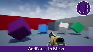 Unreal Engine 4 C++ Tutorial: Add Force to Static Mesh